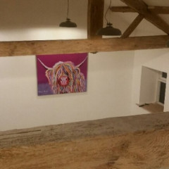 The Cowshed Works studio is ready